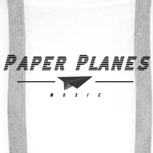 Paper Planes Music retro - Mannen Premium hoodie