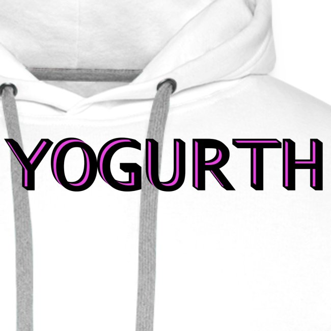 YOGURTH black 3D