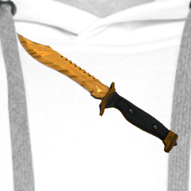 Bowie Knife Tiger Tooth