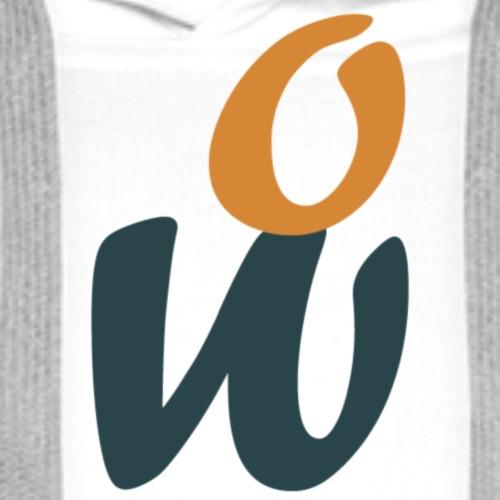 Logo WipeOnline - Sweat-shirt à capuche Premium pour hommes