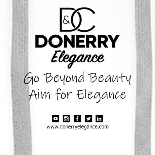 Go Beyond Elegance Image T Shirt design - Men's Premium Hoodie