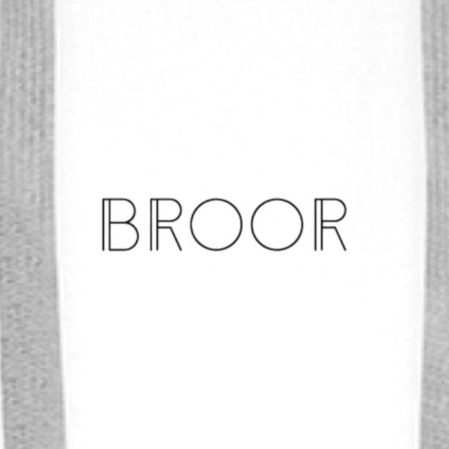BROOR logo 1 and 6