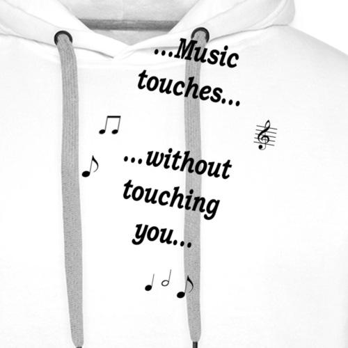 music_touches - Männer Premium Hoodie