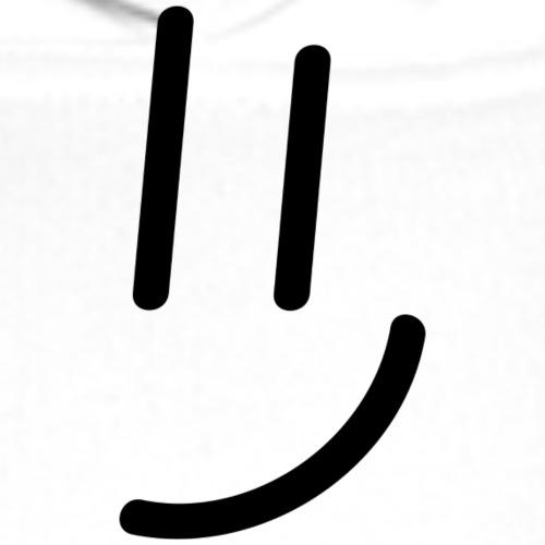 Smile. - Männer Premium Hoodie