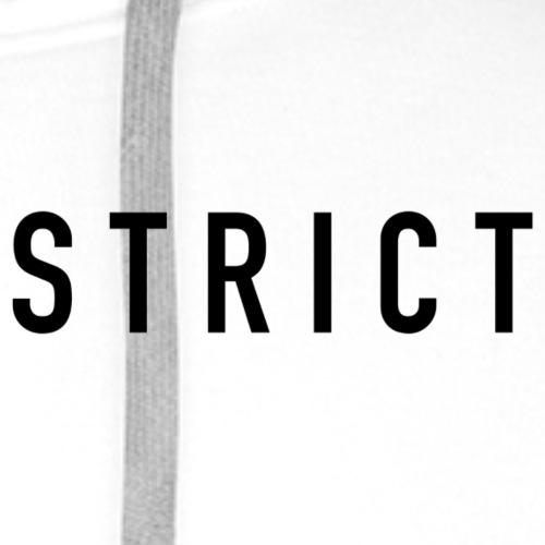 STRICT CARTEL - Sudadera con capucha premium para hombre