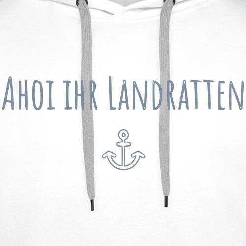 Ahoi - Männer Premium Hoodie