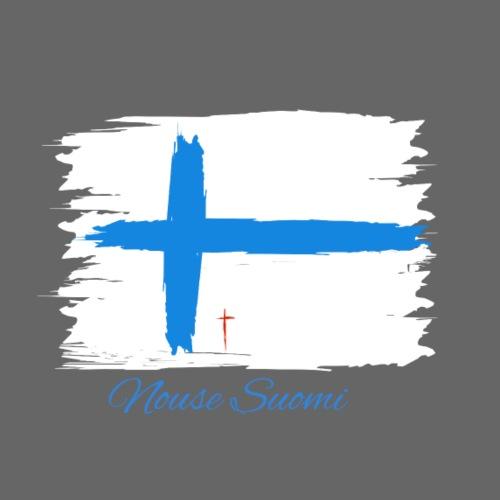 Nouse Suomi - Miesten premium-huppari