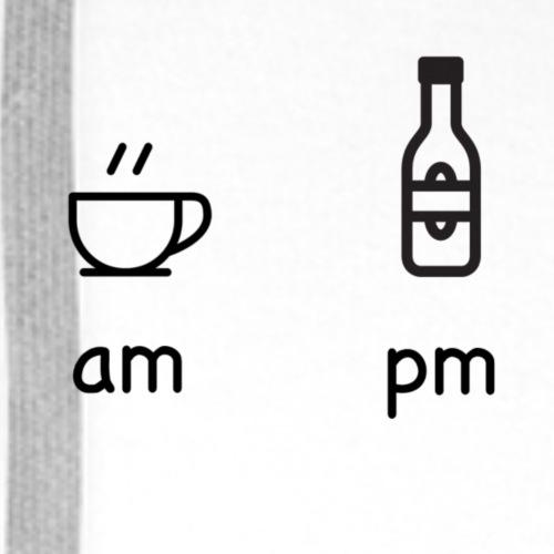 on / pm - Men's Premium Hoodie
