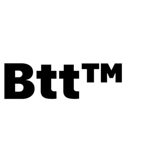 Btt™ Black logo - Felpa con cappuccio premium da uomo
