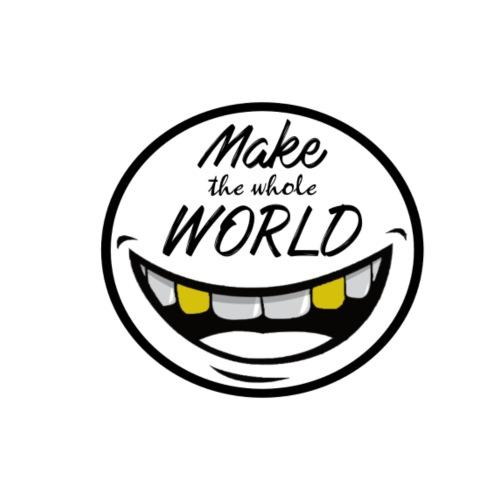 Make the whole World Smile - Männer Premium Hoodie