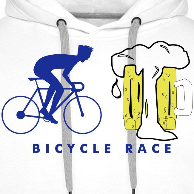 Cool bicycle race beer design