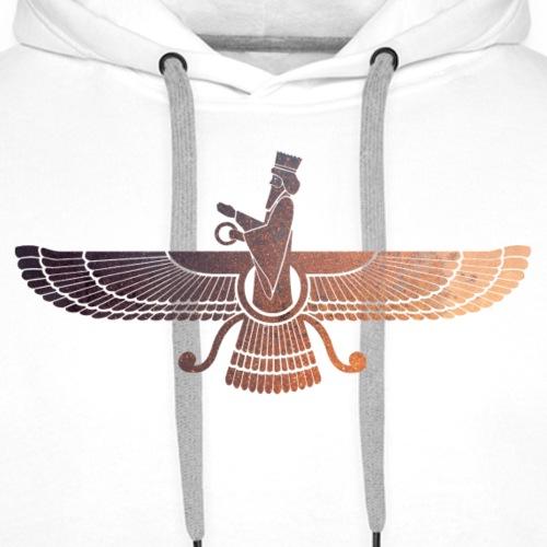 zoroastrisme - Sweat-shirt à capuche Premium pour hommes