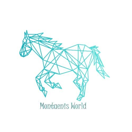 Montaenis World Logo - Männer Premium Hoodie