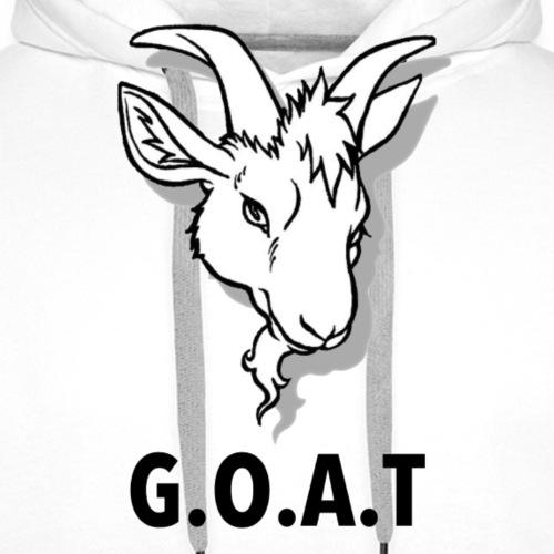 G.O.A.T - Mannen Premium hoodie