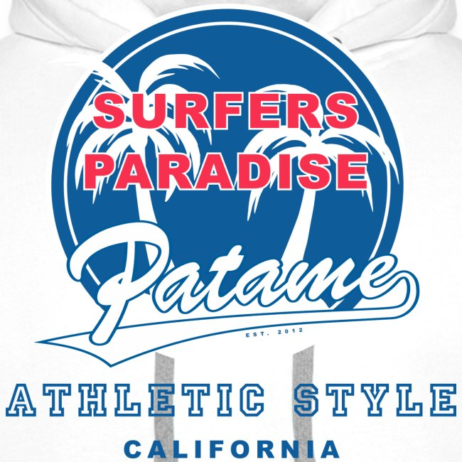 Surfers Paradise Athletic Blue