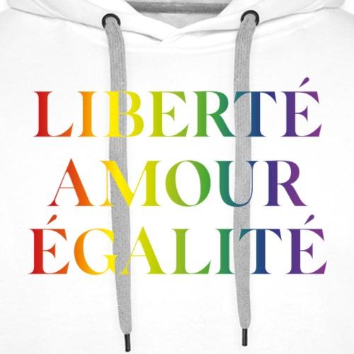 LGBT T-shirt - Men's Premium Hoodie