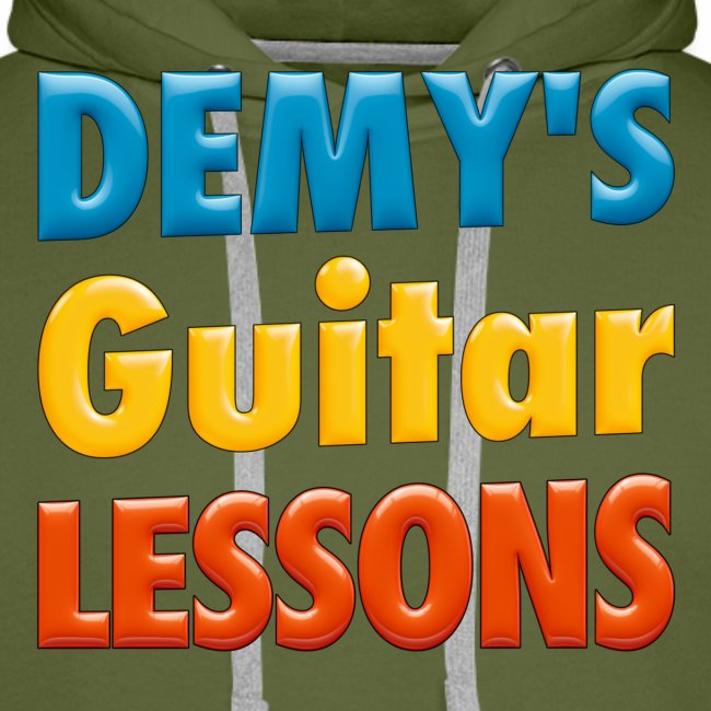 demys guitar lessons logo groot