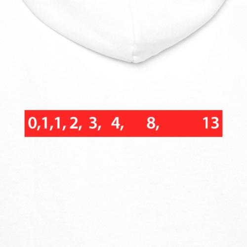 Fibonacci Sequence - Sweat-shirt à capuche Premium pour hommes
