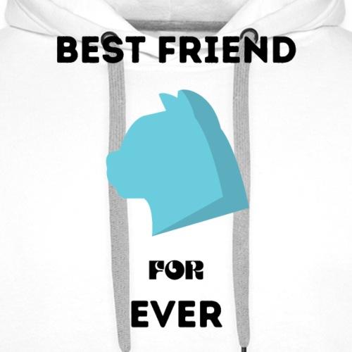 Best friend for ever - Sweat-shirt à capuche Premium pour hommes