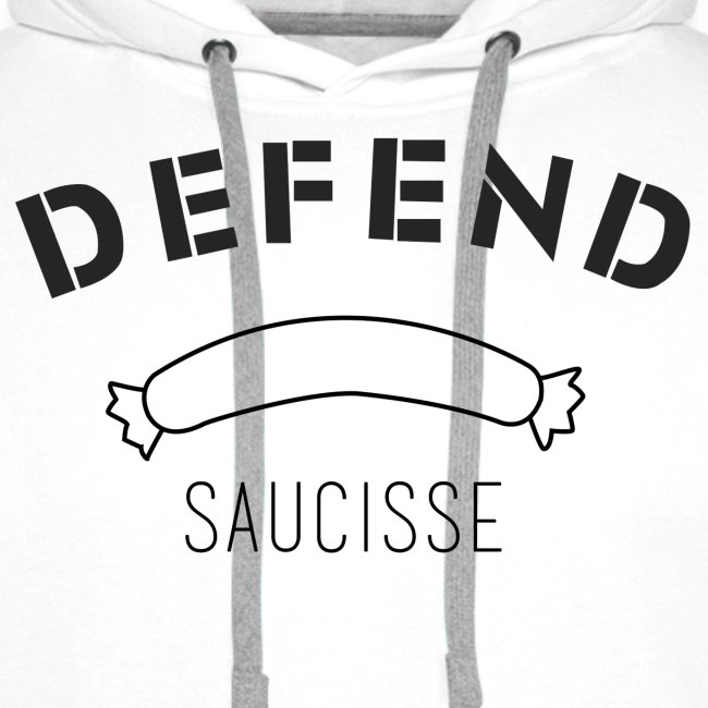 DEFEND SAUCISSE | noir