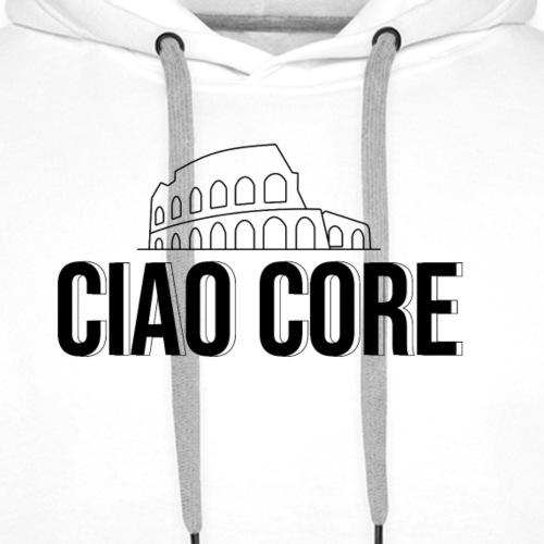 Ciao Core - Felpa con cappuccio premium da uomo