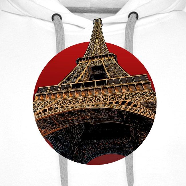Tower circle red