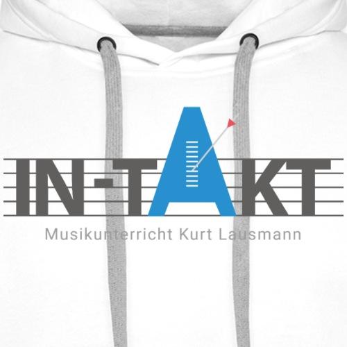 IN-TAKT Musikunterricht Logo Lovers - Männer Premium Hoodie