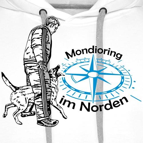 Mondioring im Norden / Motiv vorne / für hell - Männer Premium Hoodie