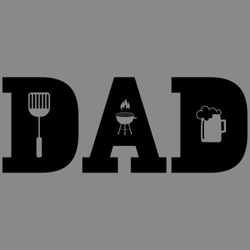 DAD - Papa grillt gerne - Männer Premium Hoodie