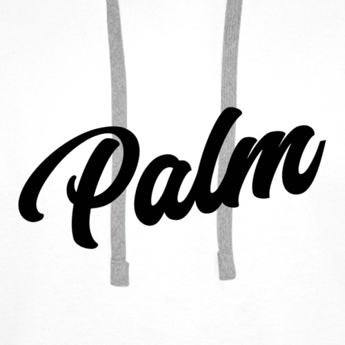 Palm Exclusive black - Herre Premium hættetrøje