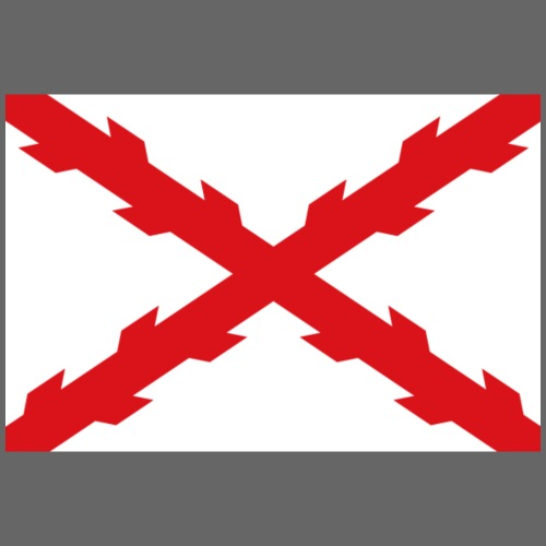 Cruz de Borgoña - Sudadera con capucha premium para hombre
