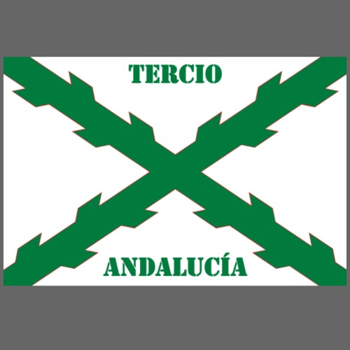 Tercio Andalucía - Sudadera con capucha premium para hombre