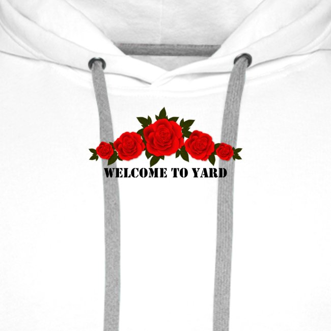 welcome to yard hoodie