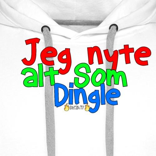 Jeg Nyte Alt Som Dingle (Hettegenser) - Premium hettegenser for menn