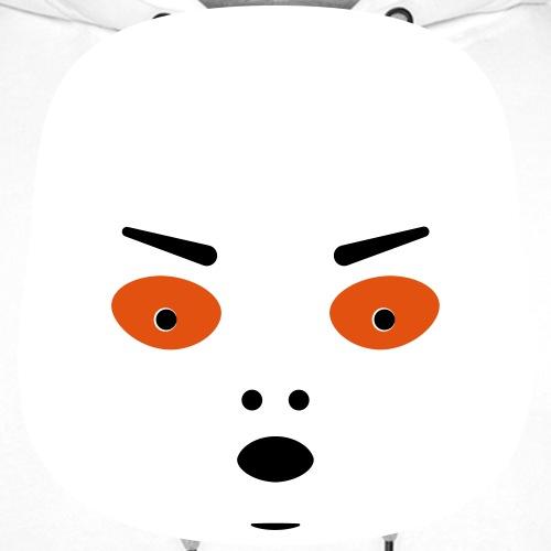 Colère Halloween édition blanche - Sweat-shirt à capuche Premium pour hommes