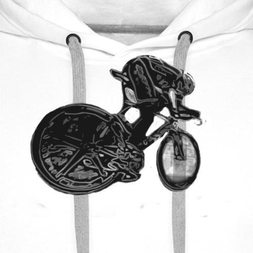 Bike02 BW - Männer Premium Hoodie