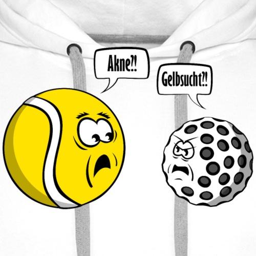 Tennis vs Golf - Männer Premium Hoodie