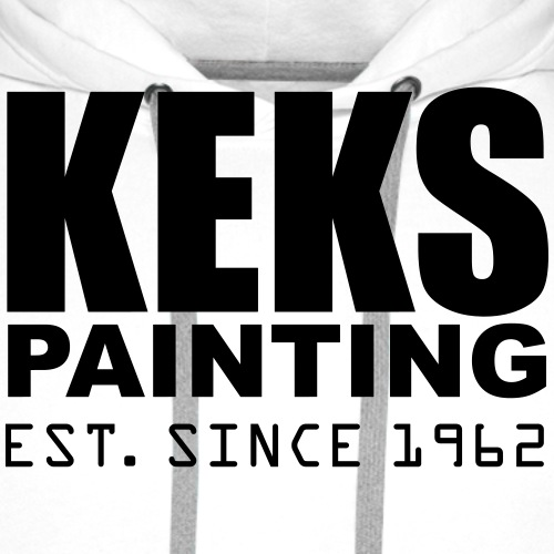 Keks Painting Black - Männer Premium Hoodie