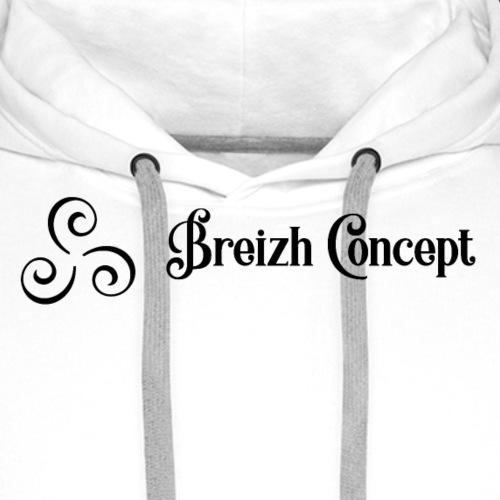 Breizh Concept - Sweat-shirt à capuche Premium pour hommes