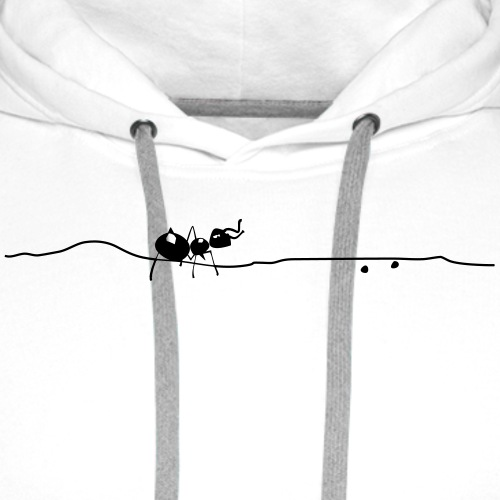 Ant - Männer Bio T-Shirt - Männer Premium Hoodie