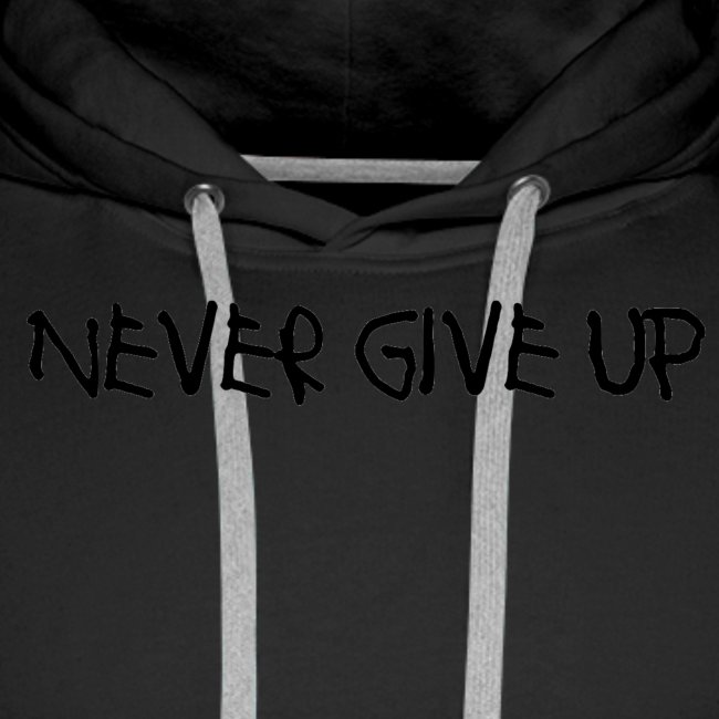 Never Give Up Font 2