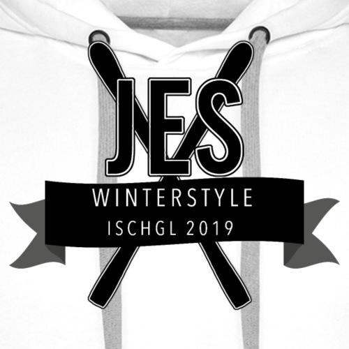 Jes Ischgl - Mannen Premium hoodie