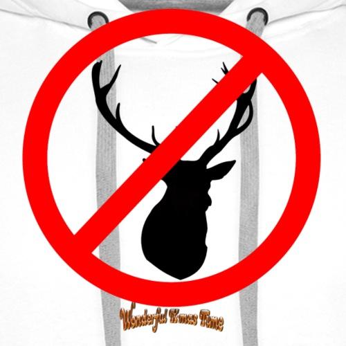 No Reindeer alllowed - Männer Premium Hoodie