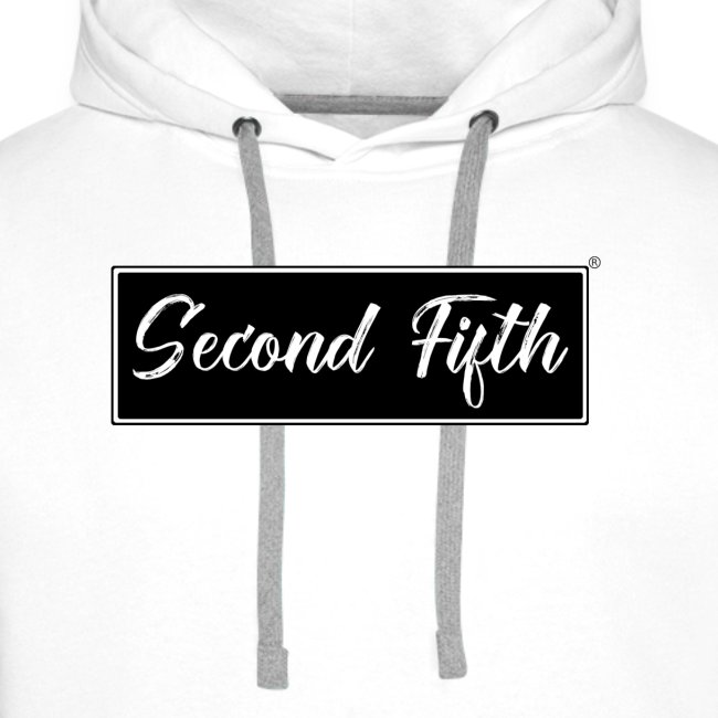 Logo Background noir Second Fifth