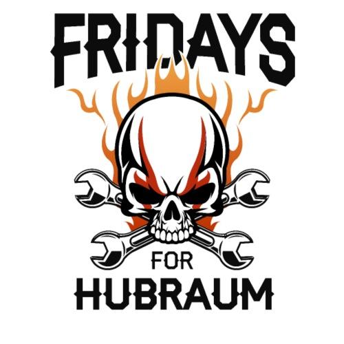 Fridays for Hubraum Skull in Flammen - Männer Premium Hoodie
