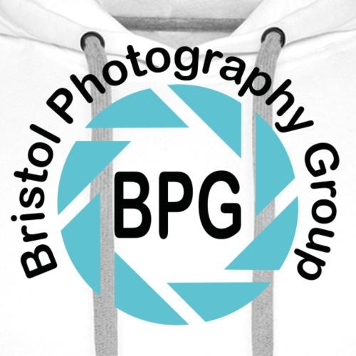 BPG Black Blue2 png - Men's Premium Hoodie