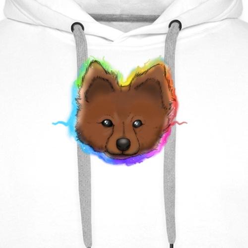 Chien chihuahua spitz - Sweat-shirt à capuche Premium pour hommes