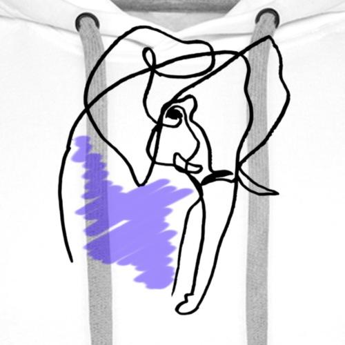Elephant - Männer Premium Hoodie
