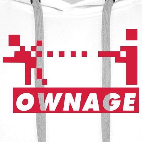 geek ownage - Premiumluvtröja herr
