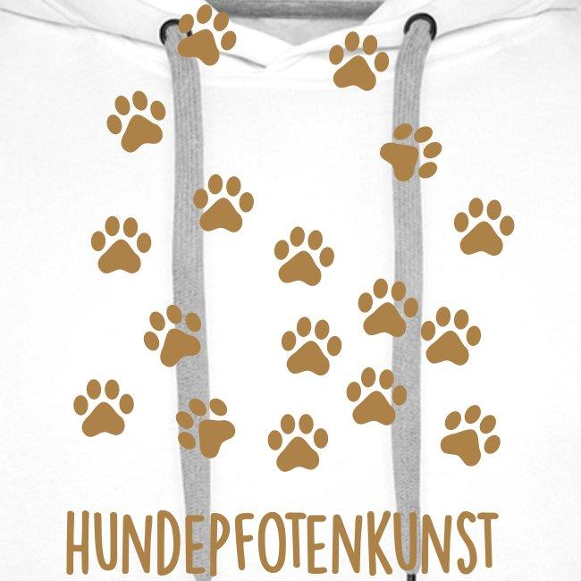 Vorschau: Hundepfotenkunst - Männer Premium Hoodie